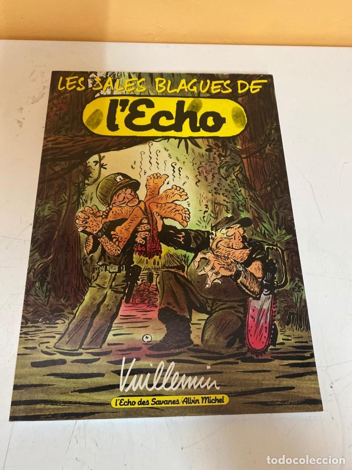 LES SALES BLAGUES DE L' ECHO (Tebeos y Comics - Comics Lengua Extranjera - Comics Europeos)