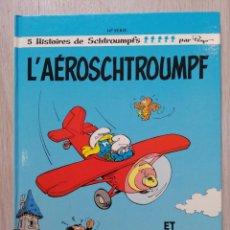 Cómics: L'AEROSCHTROUMPF ET 4 AUTRES AVENTURES. EO. CARTOON CREATION 1990. Lote 227547335