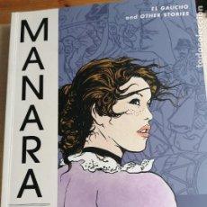 Cómics: MANARA LIBRARY VOLUME 2: EL GAUCHO AND OTHER STORIES MILO MANARA PUBLICADO POR DARK HORSE COMICS,U.. Lote 227595515