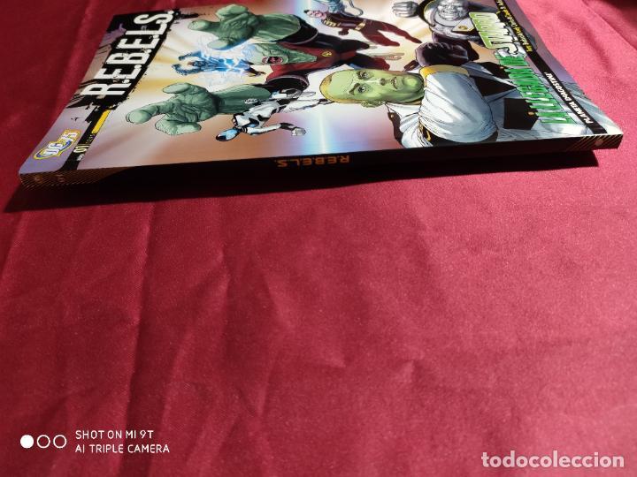 Cómics: R.E.B.E.L.S. Nº1. LA LLEGADA DE STARRO. PLANETA - TEXTOS EN ITALIANO - - Foto 3 - 228219035