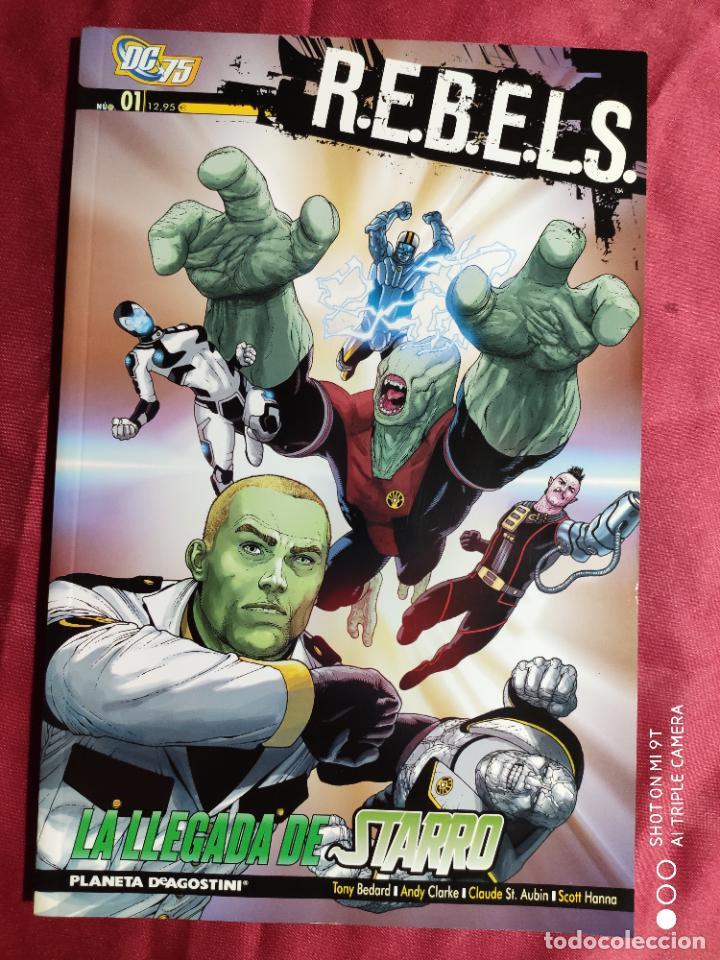 R.E.B.E.L.S. Nº1. LA LLEGADA DE STARRO. PLANETA - TEXTOS EN ITALIANO - (Tebeos y Comics - Comics Lengua Extranjera - Comics Europeos)
