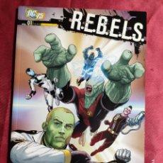 Cómics: R.E.B.E.L.S. Nº1. LA LLEGADA DE STARRO. PLANETA - TEXTOS EN ITALIANO -. Lote 228219035