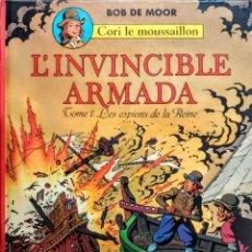 Cómics: LA ARMADA INVENCIBLE.(TOMO 1) L' INVINCIBLE ARMADA.(FRANCAISE) BOB DE MOORE. Lote 228856945