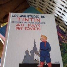 Cómics: TINTÍN EN EL PAÍS DE LOS SOVIETS. EN FRANCÉS. Lote 229671725