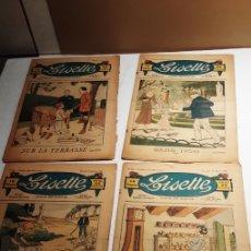 Cómics: 16 TEBEOS FRANCESES LISETTE DE 1932. Lote 229779935