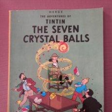 Cómics: COMIC TINTIN THE SEVEN GRYSTAL BALLS, EN INGLES Nº 1 EDICIONES EL PRADO. Lote 230528100