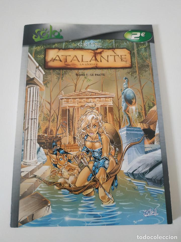 ATALANTE LA LÉGENDE TOME 1 LE PACTE - EN FRANCÉS / CRISSE / SOLO (Tebeos y Comics - Comics Lengua Extranjera - Comics Europeos)