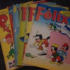 Cómics: LOTE DE 7 COMICS, REVISTAS, EN ALEMÁN. FÉLIX AÑOS 1972 - 1973. Lote 232034520