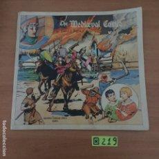 Cómics: THE MEDIEVAL CASTLE. HAROLD FOSTER. PRINCE VALIANT. PRÍNCIPE VALIENTE. CAMILO CONTI, ITALIANO 1976. Lote 234026545