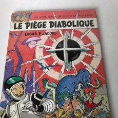 """Cómics: EO BLAKE ET MORTIMER T8A """"LE PIEGE DIABOLIQUE"""" - JACOBS- ED° LOMBARD. Lote 234168405"""