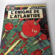 Cómics: BLAKE Y MORTIMER 04. EL ENIGMA DE LA ATLÁNTIDA (BLAKE & MORTIMER). Lote 234168640