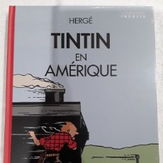 Cómics: TINTIN EN AMÉRIQUE (CUBIERTA LOCOMOTORA. EN FRANCÉS). Lote 262893665