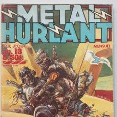Cómics: METAL HURLANT #13 (LES HUMANOIDES ASSOCIES, 1977) - REVISTA EN FRANCÉS -. Lote 235727650