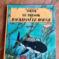 Cómics: CÓMIC TINTÍN LE TRESOR DE RACKHAM LE ROUGE - 1966-B36. Lote 235923245