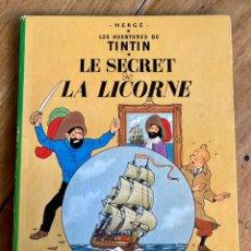 Cómics: CÓMIC TINTÍN LE SECRET DE LA LICORNE- 1966- B36. Lote 235935890