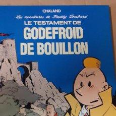 Cómics: CHALAND. LE TESTAMENT DE GODEFROID DE BOUILLON. Lote 235963950