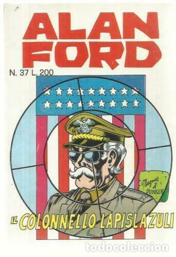 FUMETTO - ALAN FORD ORGNINALE N.37 - COLONNELLO LAPISLAZULI (ACCETTABILE) - EDITORIALE CORNO (Tebeos y Comics - Comics Lengua Extranjera - Comics Europeos)