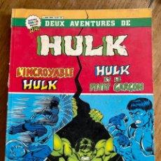 Cómics: CÓMIC DEUX AVNETURES DE HULK/9000- 1979. Lote 237443365