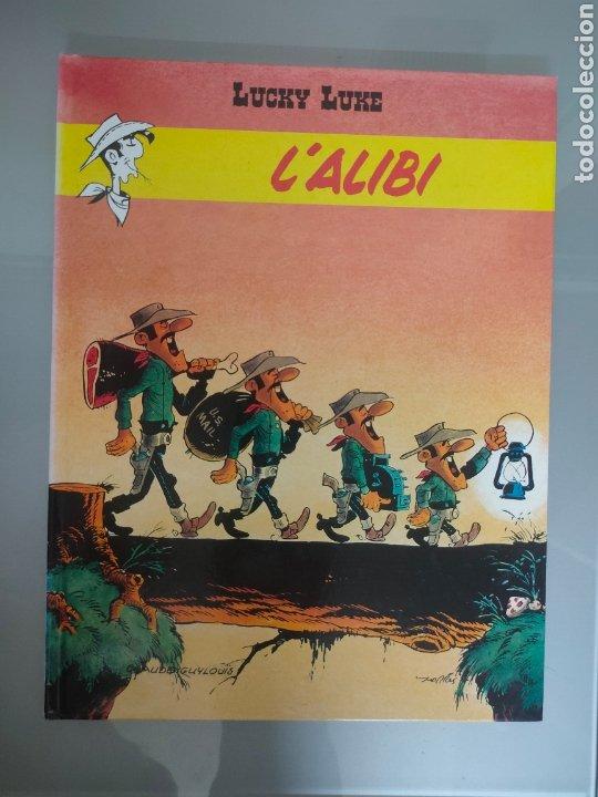 LUCKY LUKE L'ALIBI DARGAUD 2002 FRANCÉS (Tebeos y Comics - Comics Lengua Extranjera - Comics Europeos)