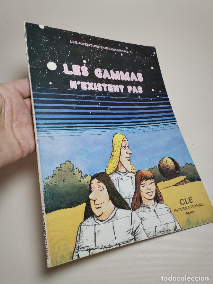 Cómics: FLES AVENTURES DES GAMMAS.-NEXISTENT PAS. CLE INTERNATIONAL.PARIS 1975 - Foto 3 - 238856750
