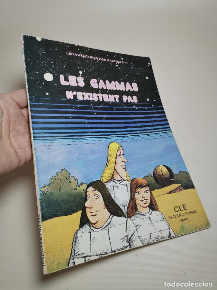 FLES AVENTURES DES GAMMAS.-N'EXISTENT PAS. CLE INTERNATIONAL.PARIS 1975 (Tebeos y Comics - Comics Lengua Extranjera - Comics Europeos)