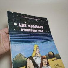 Cómics: FLES AVENTURES DES GAMMAS.-N'EXISTENT PAS. CLE INTERNATIONAL.PARIS 1975. Lote 238856750