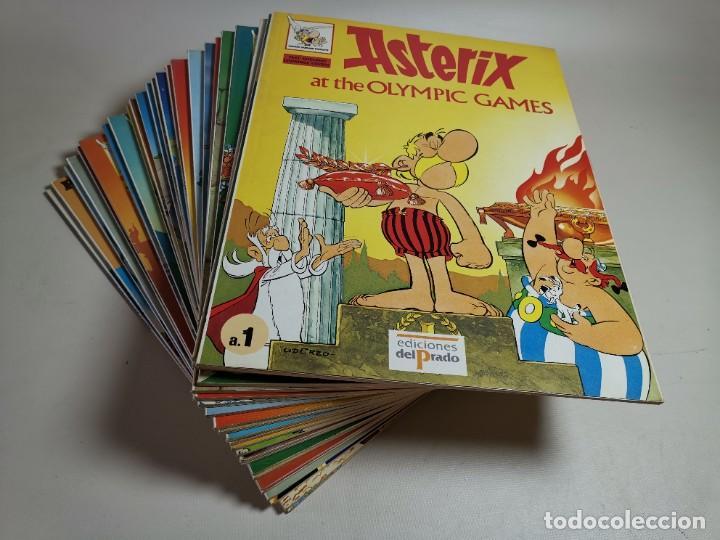 Cómics: ASTERIX AT DE OLYMPIC GAMES.24 NUMEROS. EDICION EN INGLES PARA EDICIONES EL PRADO--VER FOTOS - Foto 2 - 238857470