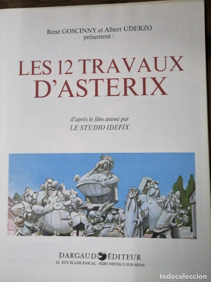 Cómics: Les 12 Travaux dAstérix, daprès le film - 1976 - Foto 2 - 238891505