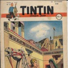 Cómics: JOURNAL TINTIN CHAQUE JEUDI. PREMIÈRE ANNÉE Nº 5. 25-11-1948.. Lote 239403645