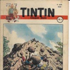 Cómics: JOURNAL TINTIN CHAQUE JEUDI. DEUXIÈME ANNÉE Nº 3, 9-6-1949. Lote 239404855