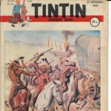 Cómics: JOURNAL TINTIN CHAQUE JEUDI. DEUXIÈME ANNÉE Nº 62, 29-12-1949. Lote 239877450