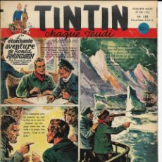 Cómics: JOURNAL TINTIN CHAQUE JEUDI. CINQUIÈME ANNÉE Nº 188, 29-5-1952. Lote 239899300