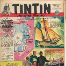 Cómics: JOURNAL TINTIN CHAQUE JEUDI. CINQUIÈME ANNÉE Nº 198, 7-8-1952. Lote 239899985