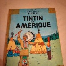 Cómics: TINTIN - EN AMERIQUE - CASTERMAN 1947, BELGICA, FRANCES. Lote 240077590