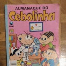 Cómics: ~ ALMANAQUE DO CEBOLINHA (EN PORTUGUÉS) DE 1985 (BIEN) ~. Lote 240369900