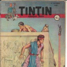 Cómics: JOURNAL TINTIN CHAQUE JEUDI. DEUXIÈME ANNÉE Nº 51, 13-10-1949. Lote 240484800