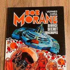 Cómics: BOB MORANE Nº 12. SERVICE SECRET SOUCOUPES. EN FRANCÉS. TAPA DURA. LOMBARD 1982. Lote 240797785