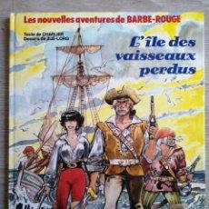 Cómics: L'ÎLE DES VAISSEAUX PERDUS. CHARLIER. JIJE- LORG. NOVEDI. 1984.. Lote 241874620
