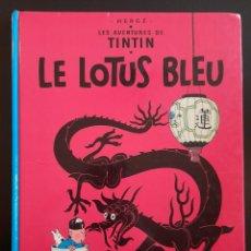 Cómics: TINTIN LE LOTUS BLEU 1966 ** TAPA DURA. Lote 241930955