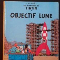 Cómics: TINTIN OBJECTIF LUNE 1966 **TAPA DURA. Lote 241940010