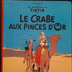 Cómics: TINTIN LE CRABE AUX PINCES D'OR 1966 **TAPA DURA. Lote 241975385