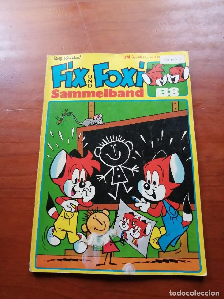 FIX UND FOXI Nº 138 SAMMELBAND TEBEO IMPRESO EN ALEMANIA (Tebeos y Comics - Comics Lengua Extranjera - Comics Europeos)