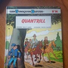 Cómics: QUANTRILL / LES TUNIQUES BLEUES Nº36 / WILLY LAMBIL / RAOUL CAUVIN. Lote 246057630