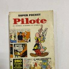 Cómics: SUPER POCKET. PILOTE. Nº 1. LE JOURNAL D'ASTERIZ ET OBELIX. GOSCINNY. 1968. FRANCIA. EN FRANCES.. Lote 247303770