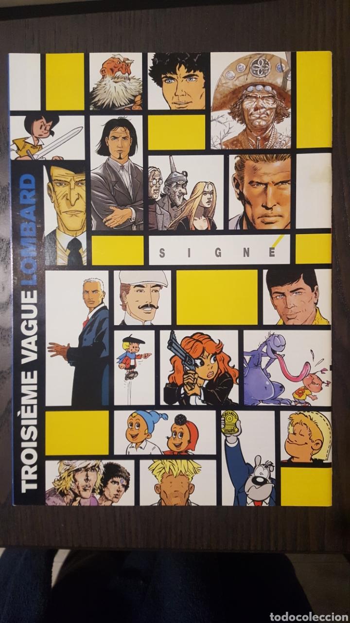 Cómics: Catálogo - CATALOGUE LE LOMBARD 1999 - LA BD DES 7 A 77 ANS - RUBINE MORANE VAILLANT HOCHET - Foto 2 - 247429995