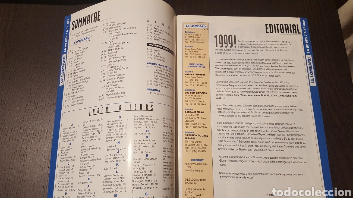Cómics: Catálogo - CATALOGUE LE LOMBARD 1999 - LA BD DES 7 A 77 ANS - RUBINE MORANE VAILLANT HOCHET - Foto 3 - 247429995