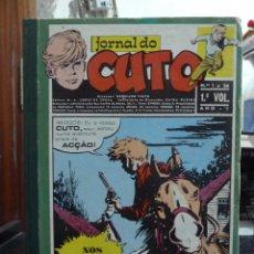 Cómics: JORNAL DO CUTO 1971 PORTUGAL PRESS 8 TOMOS. Lote 249088800