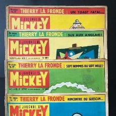 Cómics: LE JOURNAL DE MICKEY AÑOS 1964/65/67/68.. Lote 250158115