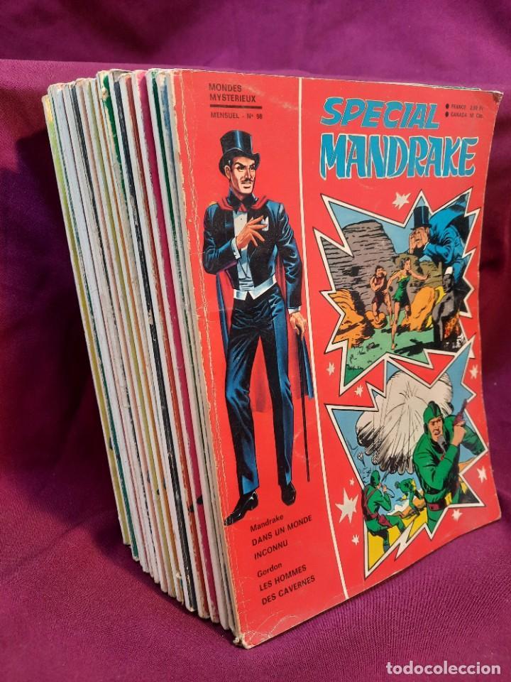 SPECIAL MANDRAKE ( TEXTO EN FRANCES ) 16 COMICS (Tebeos y Comics - Comics Lengua Extranjera - Comics Europeos)
