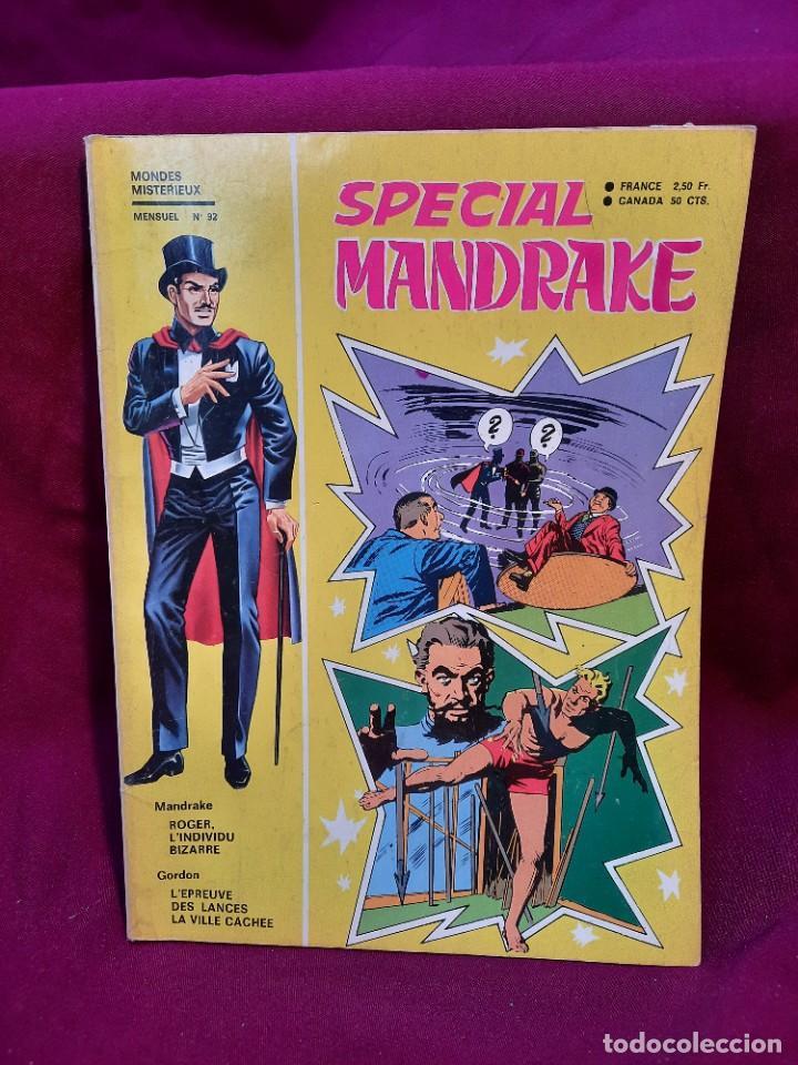Cómics: SPECIAL MANDRAKE ( TEXTO EN FRANCES ) 16 COMICS - Foto 10 - 251199510